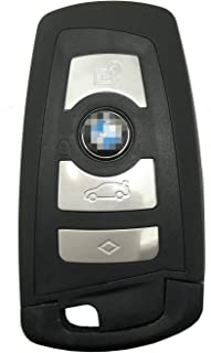 Horande Replacement Smart Keyless Entry Remote Control Key Fob Case fit for BMW 1 3 4 5 6 7 F Series X3 X5 M2 M5 F10 235ix 320 Key Fob Shell Cover