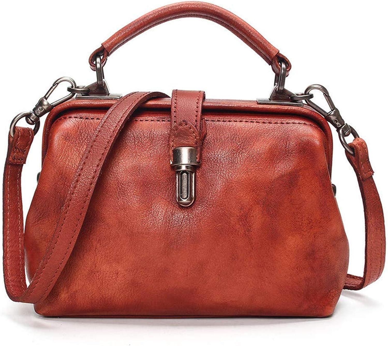 Ladies Handbag Fashon Iladies Handbags, Girls Satchel, Egant TopHand Bag, Vintage Shoulder Bag Shopping Tote Travel Bag Casual Purse Party Wedding (color   orange)
