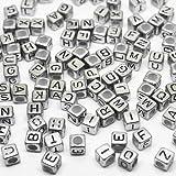 TipTopSeller Loom Bands Buchstaben Bandz looms Buchstaben ca. 90 Stück Perlen Buchstabenbox...