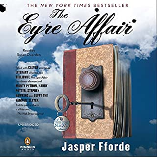 The Eyre Affair audiobook cover art