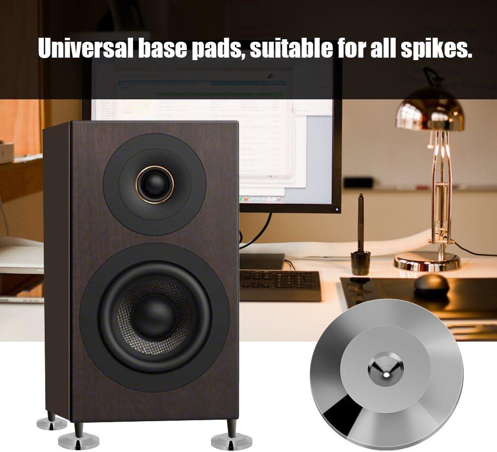 25 x 4 mm Lautsprechermatte Universal Copper Shock Lautsprecher Isolation F/ü/ße Bodenscheibe Socobeta 8 STK Gold