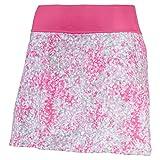 PUMA 576162 - Falda de Punto Floral para Mujer, Talla pequeña, Color Rosa, Mujer, Falda pantalón, 576162, Carmine Rose, Extra-Large