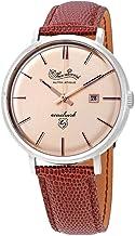 Lucien Piccard Seashark Automatic Rose Dial Men's Watch LP-18115-09