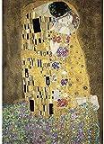 Wapipey Pintura famoso rompecabezas El beso de Gustav Klimt Jigsaw Puzzle 1000 piezas de madera rompecabezas for adultos juguetes de la descompresión HD Impreso cartel Rompecabezas Niños Inicio Puzzle