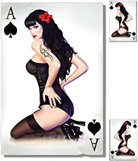 ace of spades pin up girl