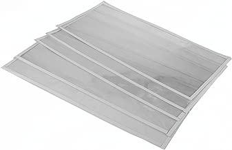 (5) Dragway Tools Window Films for Model 60, 90, and 110 Sandblast Cabinet