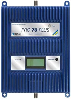 Wilson 460127 Pro 70 Plus Multiband Cellular Phone Amplifier/Repeater, Boosts 3G & 4G LTE for Any Building Up to 25000 sq ft., +12 dBm Downlink Power, 5-Band All Carrier Cell Phone Signal Booster