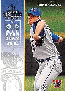 Roy Halladay baseball card (Toronto Blue Jays Pitcher) 2002 Donruss Champions #271 All Star