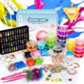 Fansteck DIY Slime Kit, Fabrica de Slime 108PCS: 22 Colores, Fluffy, Purpurina, Borax, Kit de Manualidades, Entretenimiento Niños y Regalo de Cumpleaños Navidad para Niños 3 4 5 6 7 8 Años de Fansteck