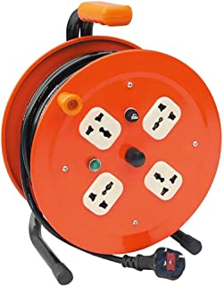 Lucus Rugged Power Reel With 4 Sockets And 25M Cable