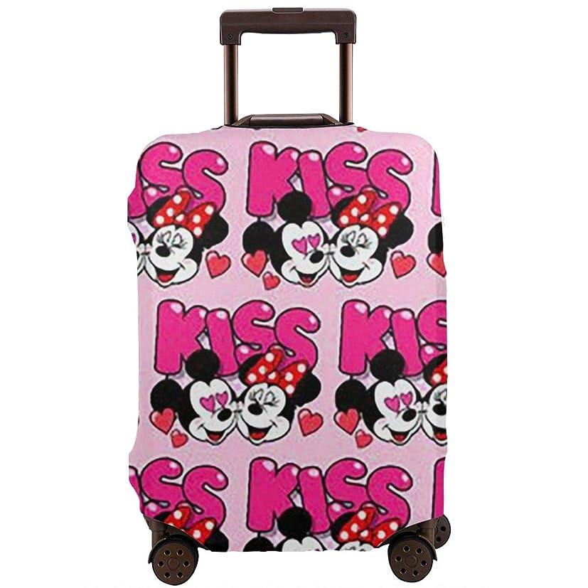 協同怖い工業用スーツケースカバー ミッキーマウス 防水 傷防止 防塵 出張 旅行 キャリーカバー ラゲッジカバー かわいい トランクカバー おしゃれ S M L Xl