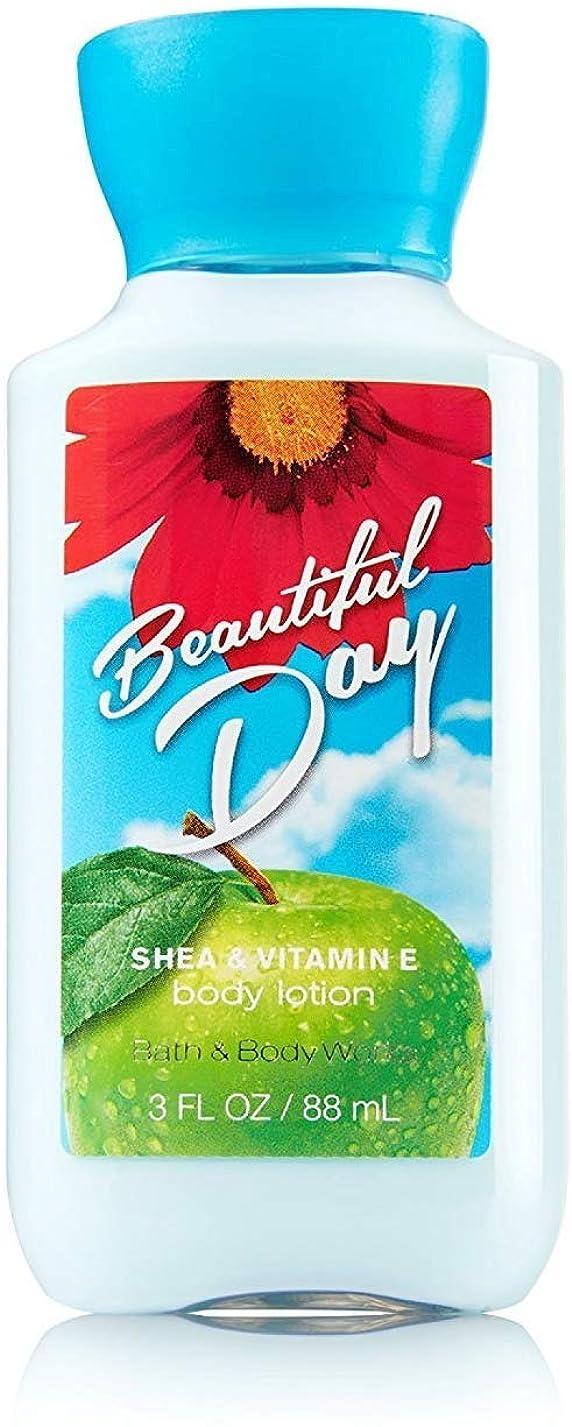 反逆者天の合併症バス&ボディワークス ビューティフルデイ ボディローション トラベルサイズ Beautiful Day [並行輸入品]