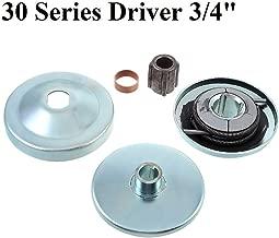 New 30 Series 6.5 HP Go Kart/Mini Bike Torque Converter Clutch Driver Pulley Replacement Comet Manco 212CC 3/4
