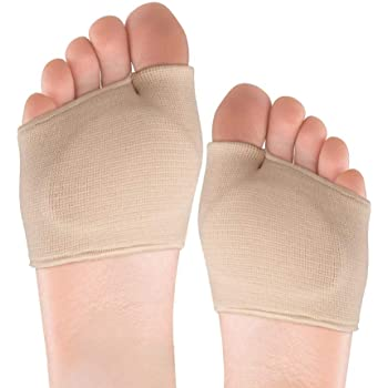 Metatarsal Pads - Metatarsal Sleeve with Sole Cushion Gel Pads for Women and Men, Comfortable Foot Pads for Pain Relief, Absorb Sweat, Fits All Shoes