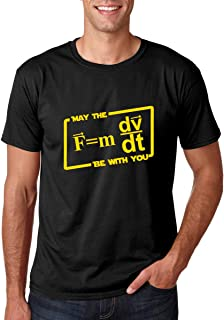 May The Force Be with You - Geeky Science Mathematics Fan Tee - Men's T-Shirt