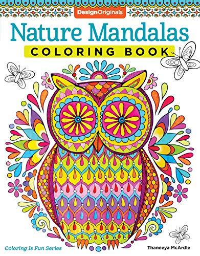 Mcardle, T: Nature Mandalas Coloring Book (Coloring is Fun)