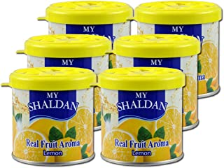 My Shaldan Lemon Scent Air Freshener 6 cans