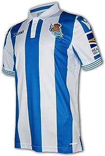 Macron Real Sociedad San Sebastián Home Jersey 18/19 blau LaLiga Fußball Trikot