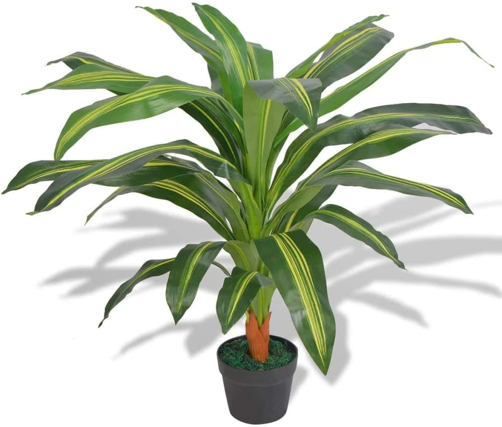 Artificial Dracaena Plant with 35.4