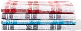 White Rose RK 111 4 Pieces Assorted Kitchen Towel Set, Multicolour - 45x70 cm