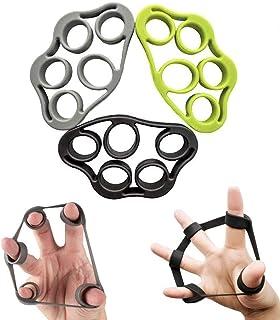 Finger Stretcher Finger Grip Trainer Hand Strengthener Extensor Exerciser Finger Resistance Bands for Finger Coordination ...