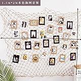 Lx.AZ.Kx Modernes minimalistisches Bilderrahmen Wand Nordic Wandbilder Wohnzimmer Restaurant Gemälde 1,5 * 2 M Sisal Seil Paket
