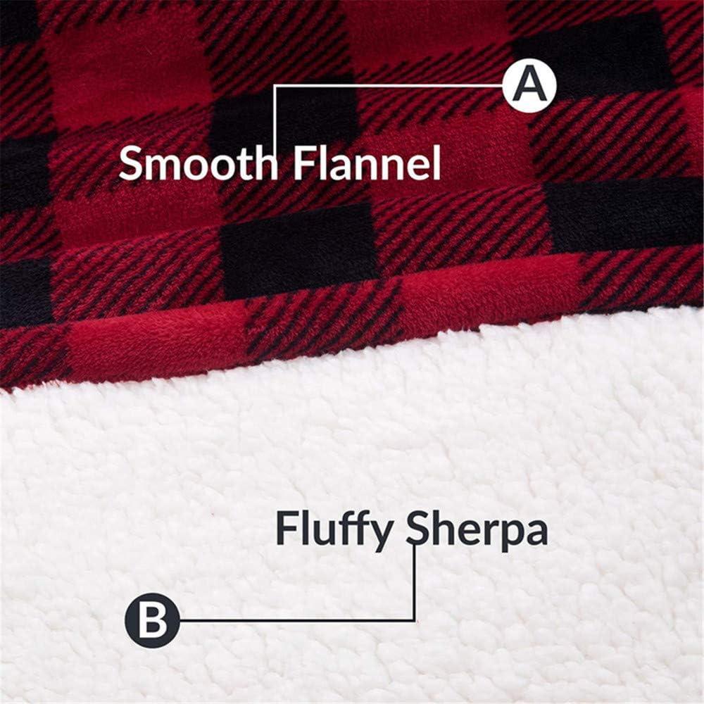 Loveulife Sweat à Capuche surdimensionné pour Femme Sweat à Capuche d'hiver en Polaire avec Manches Pull Red