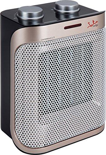 Jata TC92 Calefactor, 1500 W, Negro y Bronce