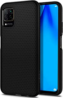 Spigen Huawei P40 Lite Kılıf Liquid Air / Black - ACS00972