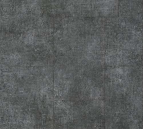 A.S. Création Vliestapete Secret Garden Tapete Vintage Optik 10,05 m x 0,53 m grau metallic schwarz Made in Germany 336081 33608-1