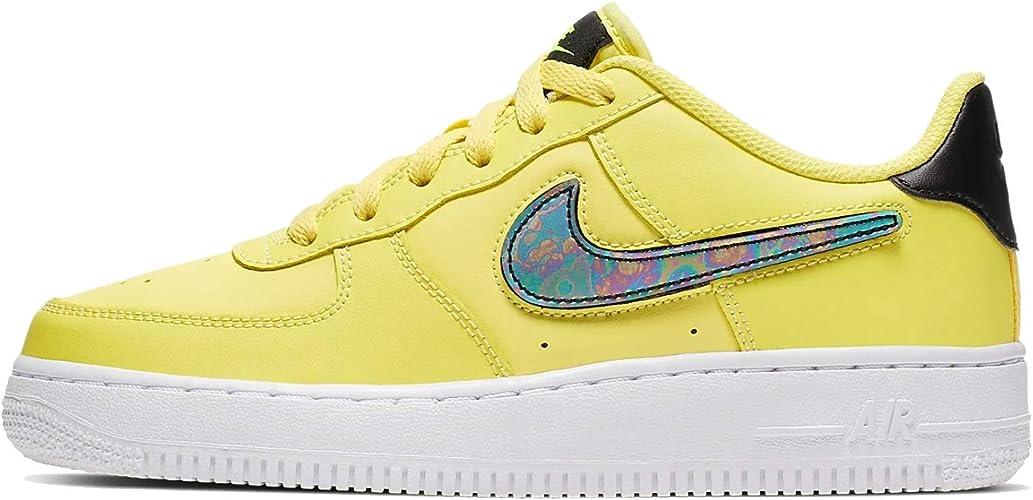 Nike AIR Force 1 LV8 3 (GS) / Jaune : Amazon.fr: Chaussures et Sacs