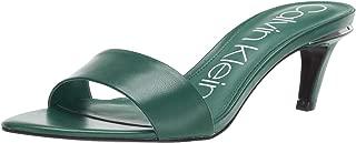 Best green kitten heel sandals Reviews