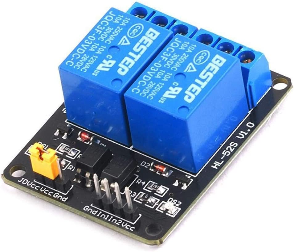JKCKHA 2 Max 69% OFF 3V Opto Isolation Relay Module Steuer In a popularity Spot Board BESTEP