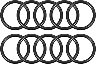 uxcell O-Rings Nitrile Rubber, 40mm Inner Diameter, 50mm OD, 5mm Width, Round Seal Gasket Pack of 10