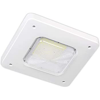 Volts: 90-277VAC Watts: 130W LED Surface Mount Canopy Fixture Type: LED Surface