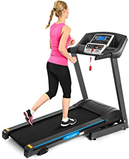 GYMAX Electric Folding Cardio Exercise Treadmill Fitness Jogging Running Machine Treadmill w/Manual Incline