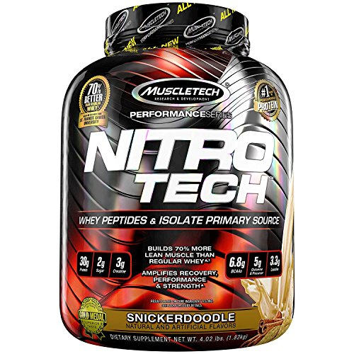 MuscleTech Nitro-Tech Performance Series 1.8kg Snickerdoodle