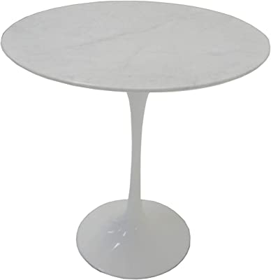 Saarinen 16 Inch Round Side Table.Amazon Com Nuevo Saarinen Style Tulip Round Side Table