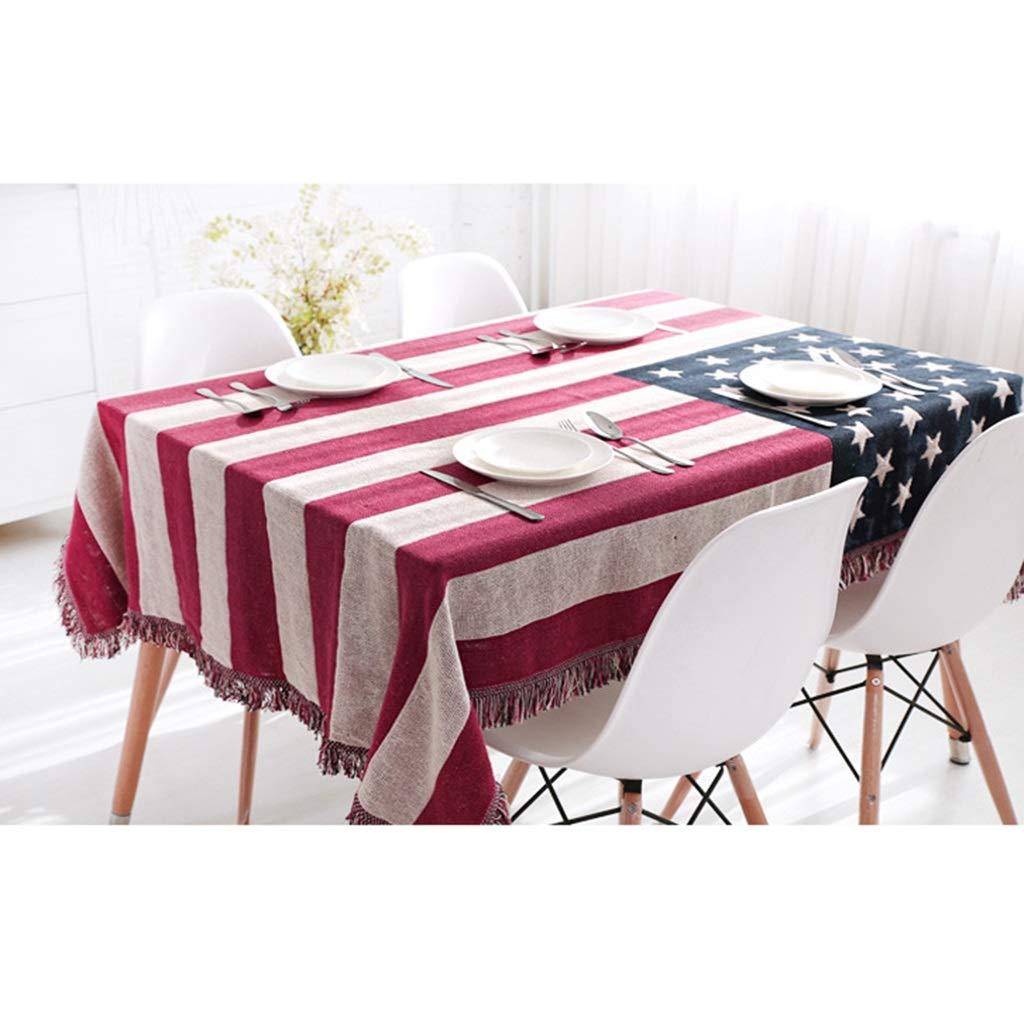Sofá Toalla Bandera Mantel Throw Mantas Algodón + poliéster Piano Cubierta Toalla de Playa Manta (Color : Us, Tamaño : 180x230cm): Amazon.es: Hogar