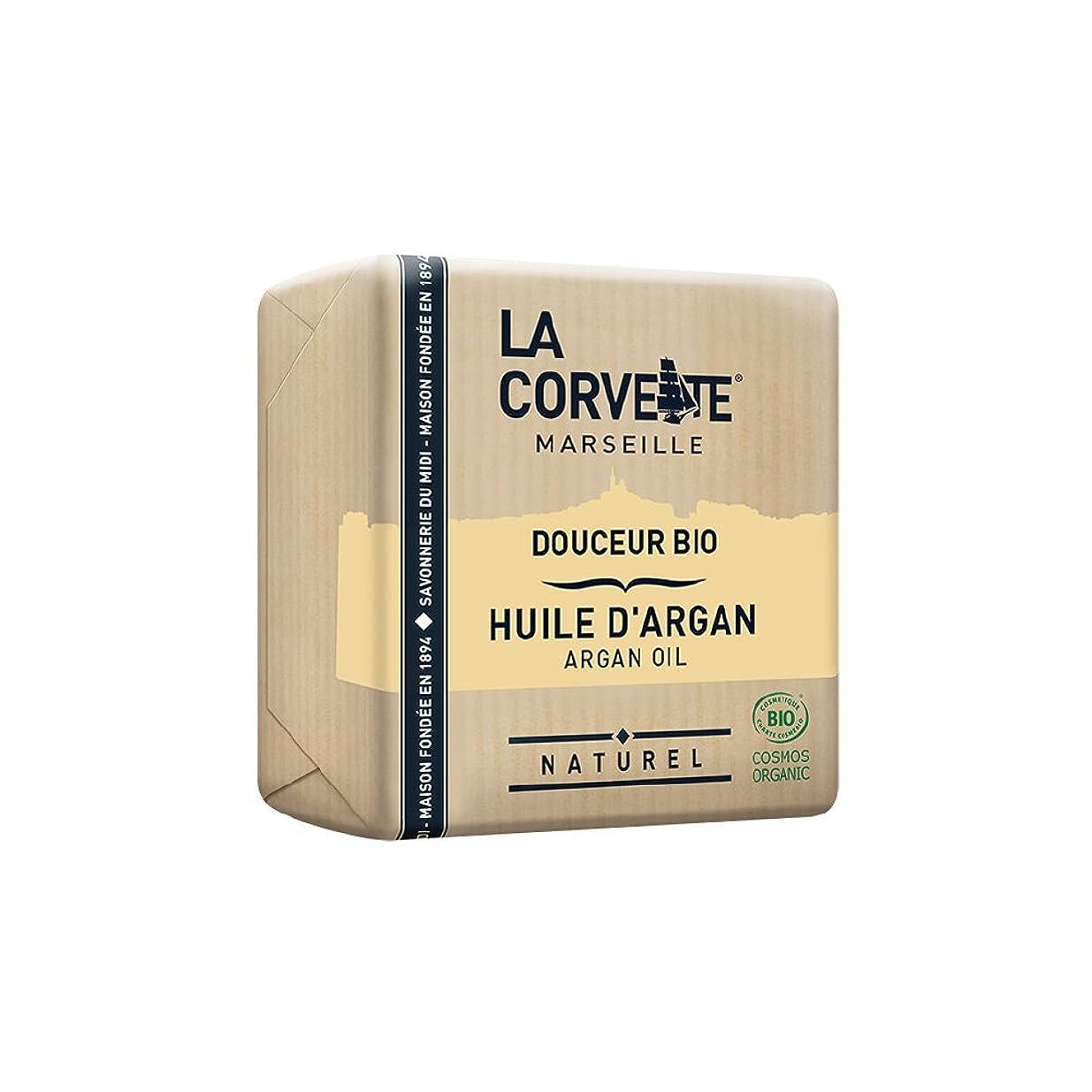 スクレーパー記憶に残る新聞La Corvette(ラ?コルベット) サボン?ドゥスール?ビオ アルガンオイル 100g