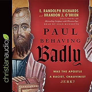 Paul Behaving Badly audiobook cover art