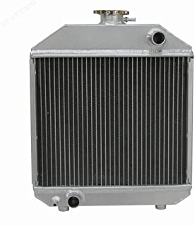 STAYCOO 2 Row All Aluminum Radiator for Tractor Yanmar YM240 YM2000 YM1700 240 1700 2000 124460-44501