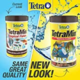 Tetra 16106 Min Tropical Flakes, Nutritionally Balanced Fish Food, 7.06-Ounce