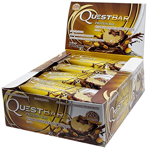 Quest Nutrition Quest Bars Chocolate Peanut Butter - 12 Barras
