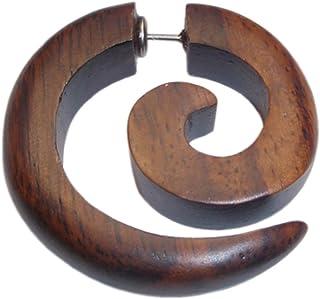Amazon.es: pendientes de madera: Joyería