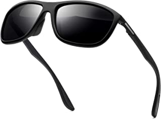 KANASTAL Polarized Sports Sunglasses For Men Women, Durable Lightweight Rectangular Sun glasses