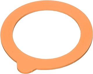 Hutchinson Sachet de 10 Rondelles Universelles avec un Nez Caoutchouc Orange dia 85 pour terrines 350g ou bocaux 1/2L-3/4L...