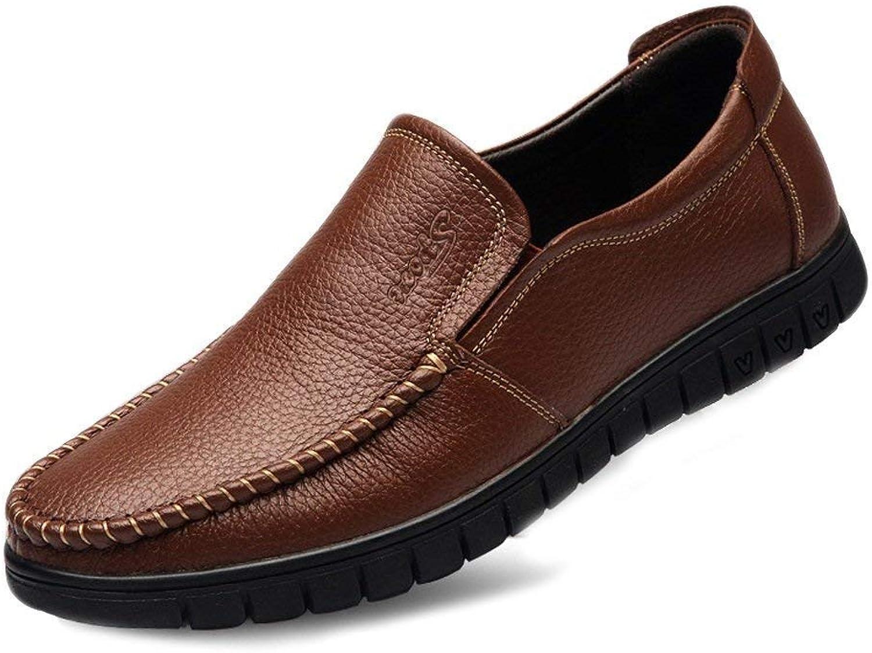 FuweiEncore Herren Mokassins Schuhe, Herrenschuhe aus Echtem