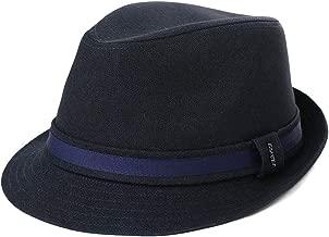 1920/1950 Wool Felt Homburg Gangster Fedora Manhattan Derby Hat Unisex 55-59CM