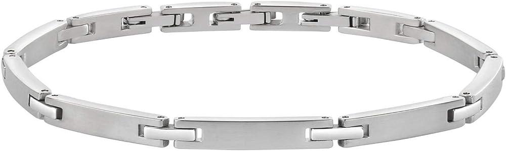 Morellato, braccialetto a catenina uomo,in acciaio_inossidabile SKR42